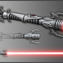 Sith Lightsaber by Brood-of-Evil