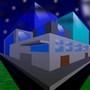 Buildings In The Night by BloodFox14