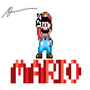 MARIO by mikeyboyt