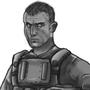 Random soldier concept art by Peglay
