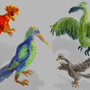 fantasy birds by GameBlock