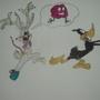 zombie bugz bunny by Almasia