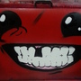 Super Meat Boy Painting by polhudo