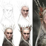 Thranduil Progress by MaxRH