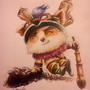 Captain Teemo on duty by Tikonka