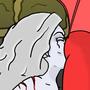 Purgatori Vs Lady Death V2 by JohnCattle