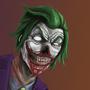 Zombie Joker by shaggyp