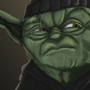 Gangsta Yoda by shaggyp