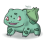 Bulbasaur #001 by SketchTheYordle