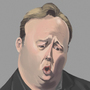 Alex Jones Caricature by reanimatearts