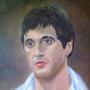 Antonio Montana Painting by reanimatearts