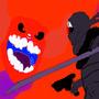 tricky vs hank madnessday 2014 by trickythaclown040601