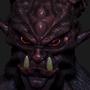 3D Demon Bust