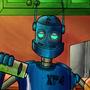 robot by ludokiro