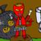 Halloween Town Trickster Triad