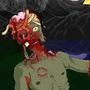 my zombie frind!COTM_ZOMBIE by meytal3