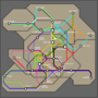 Subway Map by JMac96