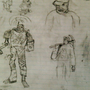 Researchers doodle. Mining op by buzze828