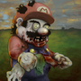 Zombie Mario (COTM_ZOMBIE) by aNroll