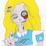 zombi alice by Almasia