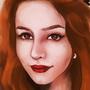 A Self Portrait by Dahlia-K