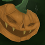 Evil Pumpkin by Cybernatium