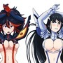 Ryuko vs Satsuki by Reit9