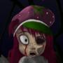 Strawberry Zombie by Sabathorn