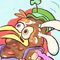 Cereal Poop Mascot