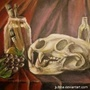 First still life painting by yoker