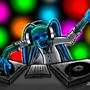 DJ monkey by Zegarra
