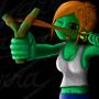 Slingshot girl by Zegarra
