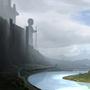 Fantasy Landscape [WIP] by BushidoArts