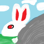 Rabbit by the Rock by TheWebmaster7
