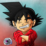 Bardock chibi casual clothing by Paradise-of-Darkness