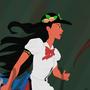 Disney Touhou - Pocahontas by kashidoodles