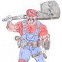 Super Mario by The-Drunken-Celt