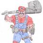 Super Mario by The-Drunken-Celt