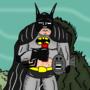 Drunk Batman - Sad Days by oldmanorange