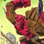 Hellboy vs. A Skeleton!
