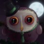 Top Hat Owl by BugsAndBooks