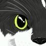 family cat-Sapphire by LittleNerdyGem