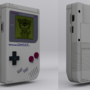 3D Original Gameboy by CrazddArt