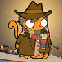 Fourth Doctor Puss by michaelkeene