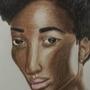 Beautiful Black Lady by Matthcw