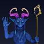 Goat Shaman by torithefox