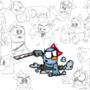Dotti Character Design by CarelessShenanigans