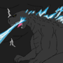 Godzilla 2014 by Godzillaisover9000