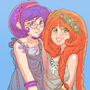 Linds and Elika cute by HOLIMOUNT2