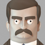 Ron Swanson by HugoVRB